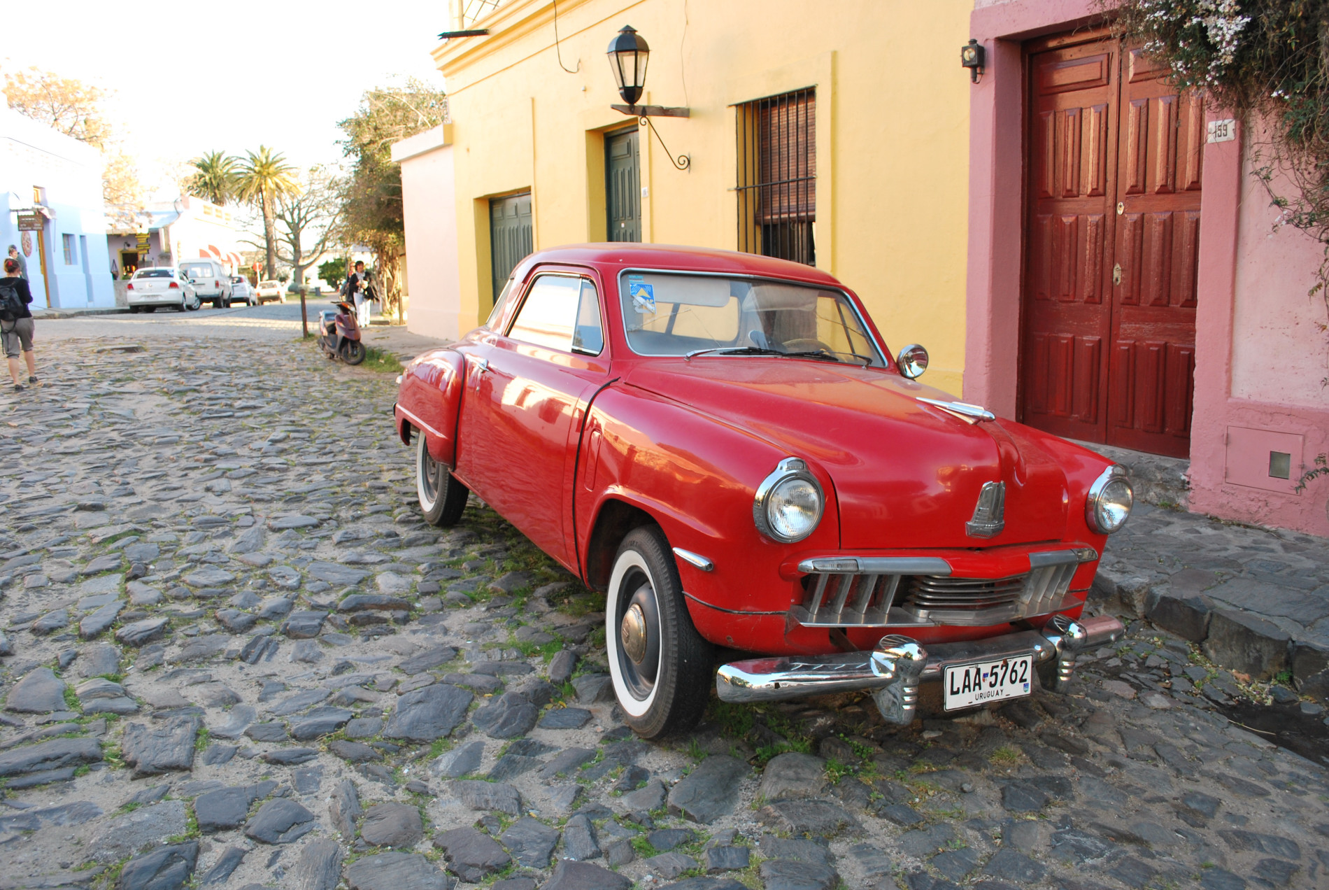 Woman in Colonia del Sacramento