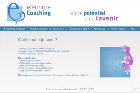 Screenshot coachingmetz.fr